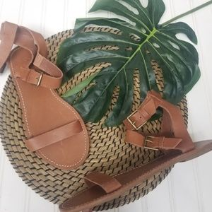 NEW Madewell leather ankle gladiator sandal 10